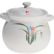 康舒 12号3.3L耐热陶瓷土锅砂煲 白色