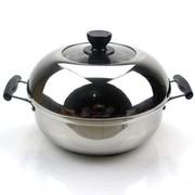 苏泊尔 蒸滋味不锈钢汤蒸多用锅 火锅 ST28Y1 304钢汤蒸锅