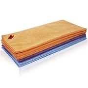 3M 超效清洁擦拭布/毛巾10条装 (橙色/蓝色/紫色) 40cm×40cm