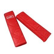 WRC 汽车安全带护套 护垫 超柔软纤皮材质 红色
