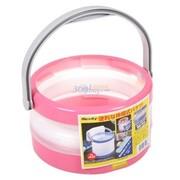 爱丽思 洗车折叠式水桶 JB-8粉色   8升