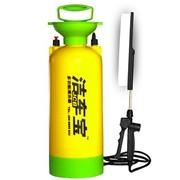 洁车宝 HY1013 多功能便携式车载洗车器 气压式洗车器 8L 黄绿
