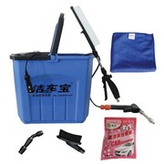 洁车宝 HY1008-2多功能便携式电动洗车器22L (蓝色)