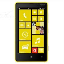 诺基亚 Lumia 820 3G手机(黄色)WCDMA/GSM产品图片主图