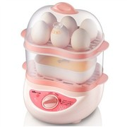 小熊 ZDQ-2161 双层定时煮蛋器 12个蛋 (粉色)