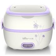 小熊 DFH-S2011 便携式蒸煮电热饭盒(紫色)