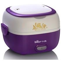 小熊 DFH-S2012 便携式不锈钢蒸煮电热饭盒(深紫色)产品图片主图