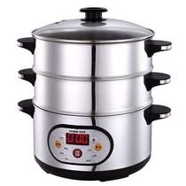 格来德 GES-2801 电脑版多功能不锈钢电蒸锅/电火锅/电煮锅产品图片主图