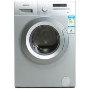 西门子 XQG65-12E268 6.5公斤全自动滚筒洗衣机(银色)