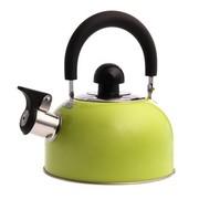 花色(Stylor) 迷你开水壶 烧水壶 优质不锈钢彩色 厨房用品 电磁炉通用 响水壶 绿