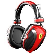 法拉利 Scuderia P200 RED 头戴式耳麦耳机 红色 赛车般的经典设产品图片主图