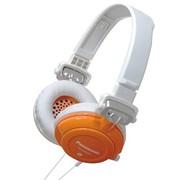 松下 RP-DJS400GKD  DJ系列头戴耳机 橙色