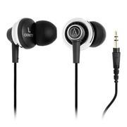 铁三角 ATH-CKM77 舒适入耳式耳机 铝金属和不锈钢外壳 浮动式结构 可重现清澈的中音音色