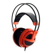 赛睿 西伯利亚v1 耳机 橙色