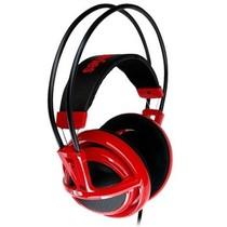 赛睿 西伯利亚v1 耳机 红色产品图片主图