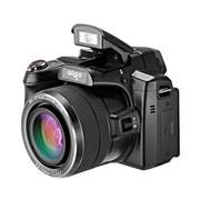 爱国者 H100 数码相机 黑色(1800万像素 3英寸双轴翻转屏 36倍光学变焦 22.5mm广角)