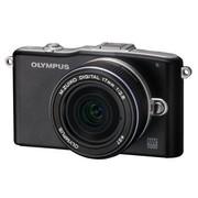 奥林巴斯 E-PM1 单电套机 黑色(M.ZUIKO DIGITAL 17mm f/2.8 镜头)