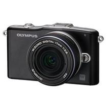 奥林巴斯 E-PM1 单电套机 黑色(M.ZUIKO DIGITAL 17mm f/2.8 镜头)产品图片主图