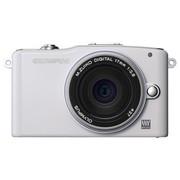 奥林巴斯 E-PM1 单电套机 白色(M.ZUIKO DIGITAL 17mm f/2.8 镜头)