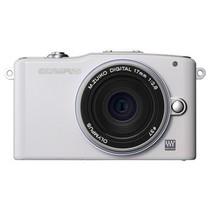 奥林巴斯 E-PM1 单电套机 白色(M.ZUIKO DIGITAL 17mm f/2.8 镜头)产品图片主图