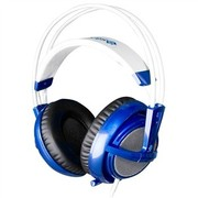 赛睿 西伯利亚v2 耳机 蓝色