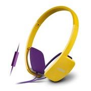漫步者 H640P 活力黄 兼容性极强的手机耳机