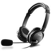 漫步者 K630 防夹发设计  高品质耳麦  黑色
