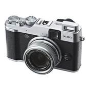 富士 FinePix X20 旁轴数码相机 银色