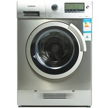 西门子 XQG70-15H569 7公斤全自动滚筒洗衣干衣机(银色)产品图片主图