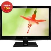 熊猫 LE24M19 24英寸 高清LED液晶电视(黑色)