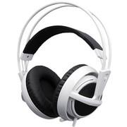 赛睿 西伯利亚v2 USB 耳机 白色