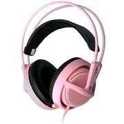 赛睿 西伯利亚v2 耳机 粉色