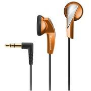 森海塞尔 耳塞 MX365 强劲低音驱动立体声  橙色