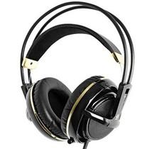 赛睿 西伯利亚V2 耳机 黑金色产品图片主图