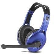 漫步者 K800 高品质电脑耳麦 蓝色