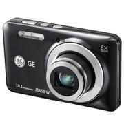 GE J1458W 数码相机 黑色(1414万像素 5倍光变 2.7英寸液晶屏)