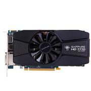 蓝宝石 HD 7770 2GB GDDR5 白金版 1000/4500MHz 2GB/128位 GDDR5 PCI-E 显卡
