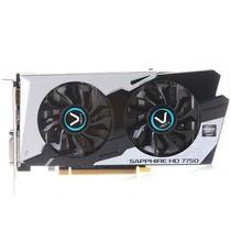 蓝宝石 HD7750 1GB 黑钻版oc 1100/5000MHz 1GB/128位 GDDR5 PCI-E 显卡产品图片主图
