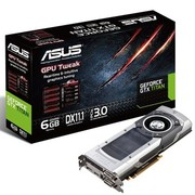 华硕 GTXTITAN-6GD5 876MHZ/6008MHZ 6144MB/384bit GDDR5 PCI-E3.0显卡