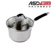 爱仕达 ASD 16cm美朵系列304不锈钢奶锅 LB1916