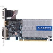 技嘉 GV-N210SL-1GI 520MHz/1200MHz 1024MB/64 bit DDR3 PCI-E 半高显卡