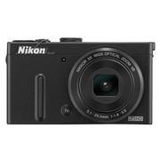 尼康 P330 数码相机 黑色(1219万像素 3英寸液晶屏 5倍光学变焦 24mm广角)