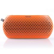 飞利浦 SBM130ORG 插卡音箱 wOOx低音技术 多种音源 双喇叭 礼品首选 橙色