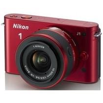 尼康 J1 微单套机 红色(VR 10-30mm f/3.5-5.6 镜头)产品图片主图