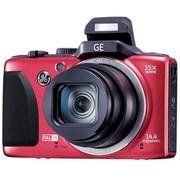 GE G100 数码相机 红色(1440万像素 15倍光学变焦 3.0寸液晶屏 28mm广角)