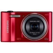 三星 WB30F 数码相机 红色(1620万像素 3英寸屏 10倍光变 24mm广角 内置4G卡 wifi一键上传)