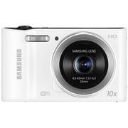 三星 WB30F 数码相机 白色(1620万像素 3英寸屏 10倍光变 24mm广角 内置4G卡 wifi一键上传)