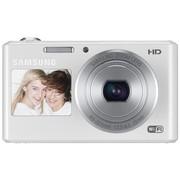 三星 DV150F 数码相机 白色(1620万象素 5倍光变 25mm广角 智能双屏 WiFi一键上传 内置4G卡)