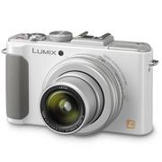 松下 DMC-LX7GK 数码相机 白色(1010万像素 3.0英寸液晶屏 3.8倍光学变焦 24mm广角)