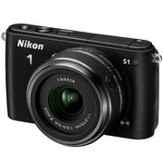 尼康 S1 微单套机 黑色(11-27.5mm f/3.5-5.6)